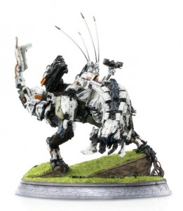 Horizon Zero Dawn statue The Thunderjaw Collection Gueule d'Orage Triforce