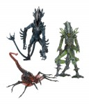 Aliens série 10 : assortiment 3 figurines Neca