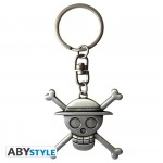 One Piece Porte-clés 3D Skull Luffy Abystyle