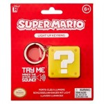 Nintendo Super Mario Porte-Clés Lumineux Question Block