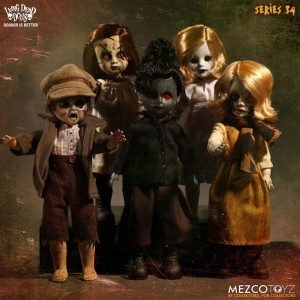 Living Dead Dolls série 34 : The Time Has Come To Tell The Tale Mezco