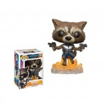 Les Gardiens de la Galaxie Vol. 2 Figurine POP! Marvel 201 Rocket Raccoon Funko