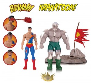 DC Comics Icons pack 2 figurines The Death of Superman DC Collectibles