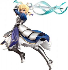 Fate/Stay Night statue Saber Triumphant Excalibur Good Smile