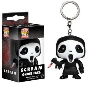 Scream porte-clés Pocket POP! Vinyl Ghost Face Funko