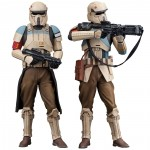 Star Wars Rogue One pack 2 statues ARTFX+ Scarif Stormtrooper Kotobukiya