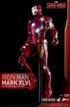 Captain America Civil War figurine Power Pose Series Iron Man Mark XLVI Hot Toys