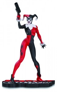 DC Comics Red, White & Black statue Harley Quinn by Jim Lee DC Collectibles