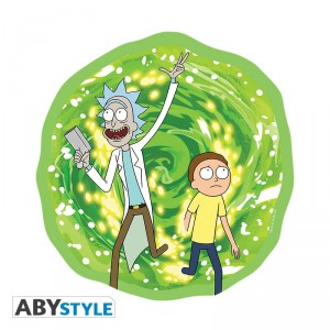 Rick And Morty Tapis de souris Portail Abystyle
