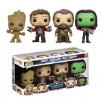 Marvel POP Gardiens de la Galaxie 2 : pack 4 figurines Funko