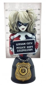 DC Comics buste Mugshot Harley Quinn Cryptozoic Entertainment