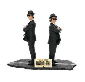 Blues Brothers pack 2 statue Movie Icons Jake & Elwood SD Toys