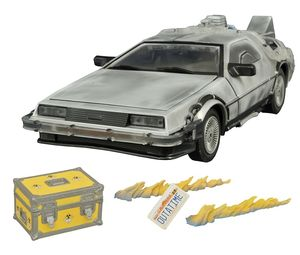 Retour vers le futur  Delorean Iced Time Machine 30th Anniversary Edition Diamond Select