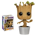 Les Gardiens de la Galaxie POP! Vinyl Bobble Head Dancing Groot Funko