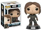 Star Wars Rogue One POP! 138 Bobble Head Jyn Erso Funko