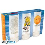 Dragon Ball Z- set de 3 verres Abystyle