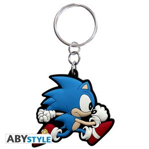 Sonic Porte-clés Sonic run Abystyle