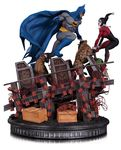 DC Comics statue Batman VS. Harley Quinn Battle DC Collectibles