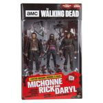 The Walking Dead TV Version pack 3 figurines Heroes Michonne Rick Daryl McFarlane