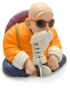 Dragon Ball tirelire Master Roshi Tortue géniale Plastoy