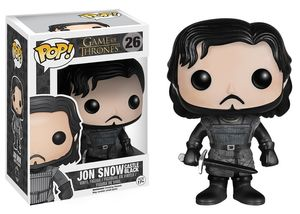 Game Of Thrones figurine Pop! 26 Castle Black Jon Snow Funko