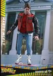 "Retour vers le Futur 2 figurine Movie Masterpiece Marty McFly 12"" Hot Toys BTTF"