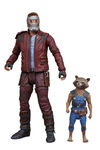 Les gardiens de la galaxie 2 Marvel Select figurine Star-Lord & Rocket Raccoon Diamond Select