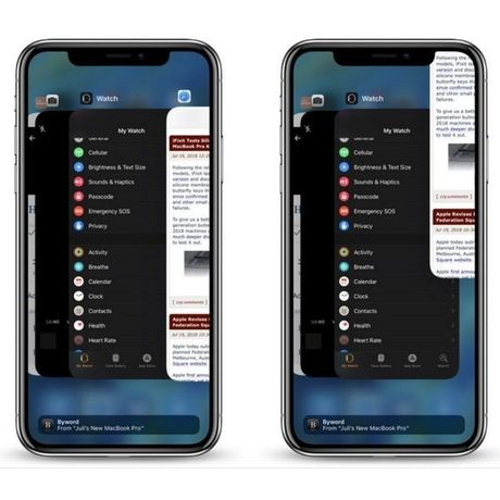 Comment fermer une application sur iPhone X ?