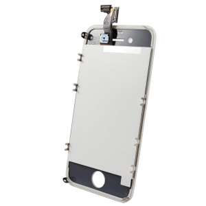 Ecran LCD Complet Compatible iPhone 4 BLANC