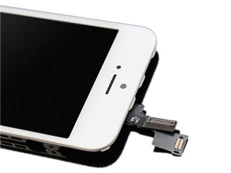 Ecran LCD Original iPhone 5S BLANC