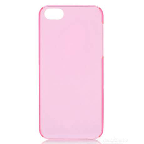 Coque de Protection Transparente / Rose