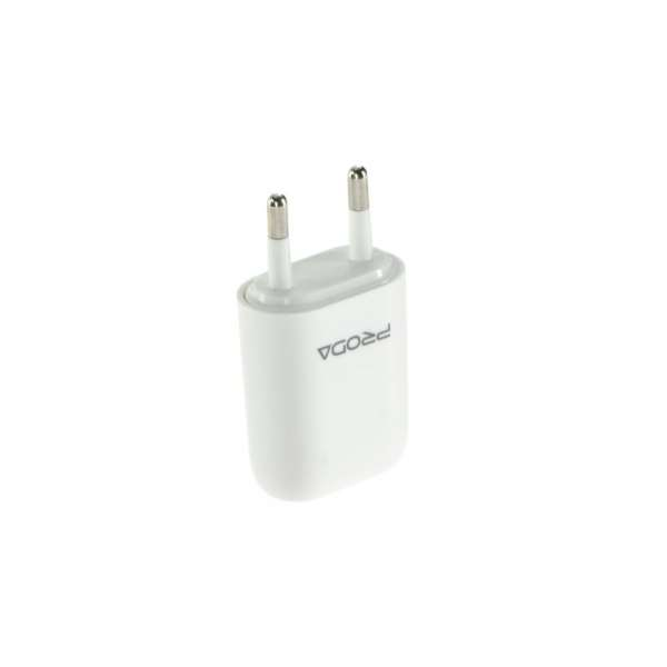 Prise Chargeur Secteur USB 1A iPhone / iPod / iPad
