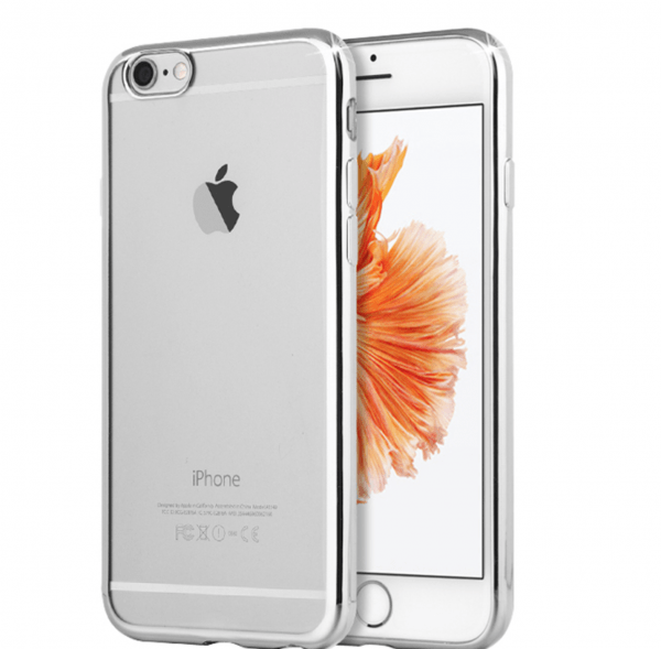 Coque Transparente TPU Contour Brillant iPhone 7 / 8