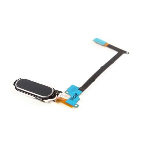 Nappe Bouton Home Samsung Note 4 Noir