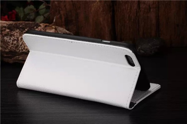 Coque Portefeuille Rabat / Magnet Blanc iPhone 5 / 5S