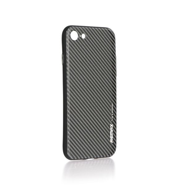 Coque TPU Carbone Noir / Gris iPhone 7 / 8