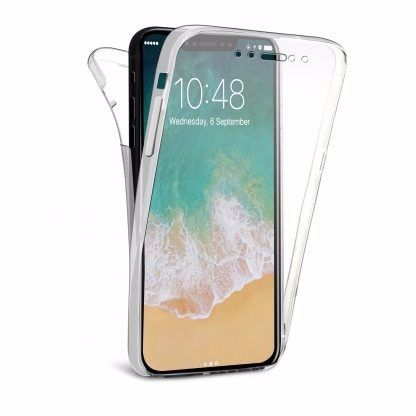 Coque TPU Transparente iPhone X / XS 360