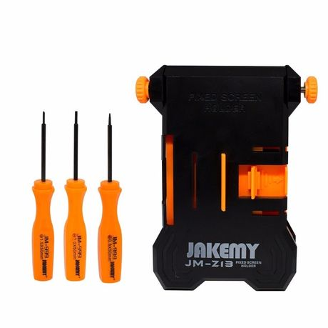 Support Professionnel JAKEMY Avec Tournevis Pour iPhone / Samsung / Huawei