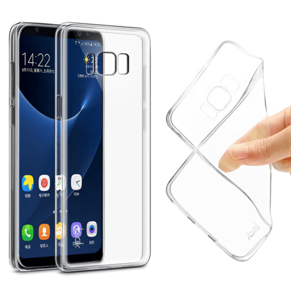 Coque de Protection Transparente Samsung Galaxy S8 Plus