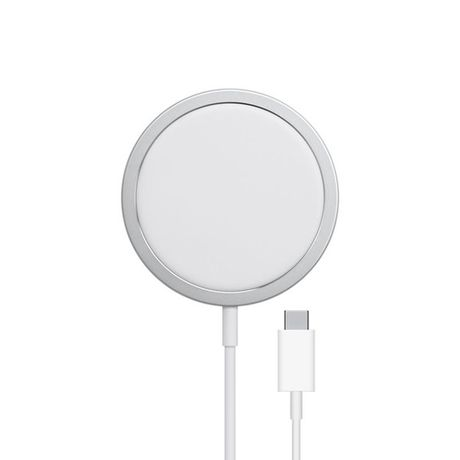Câble USB Chargeur Induction Blanc Compatible Apple Watch