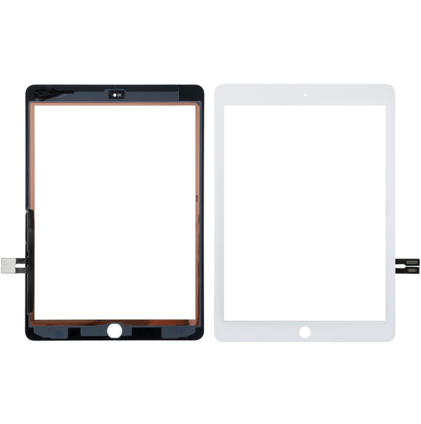 Vitre Tactile Compatible iPad 2018 BLANC