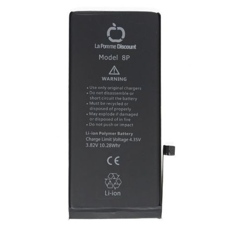 Batterie Li - ion 2691 mAh Compatible iPhone 8 Plus LaPommeDiscount