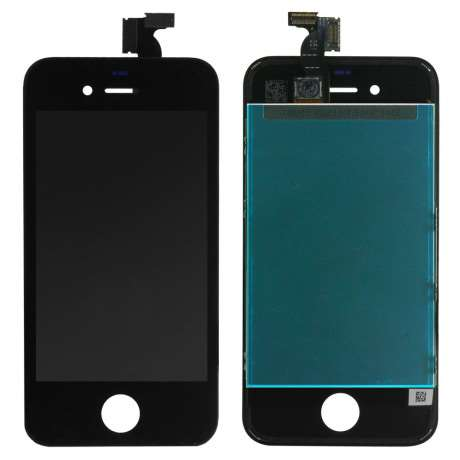 Ecran lcd complet original iphone 4 noir lapommediscount for Ecran photo iphone noir