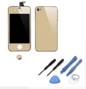 Kit De Transformation Complet Compatible iPhone 4S OR / MIROIR
