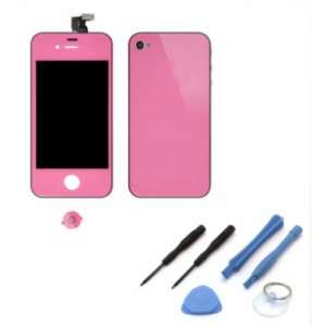 Kit De Transformation Complet Compatible iPhone 4S ROSE
