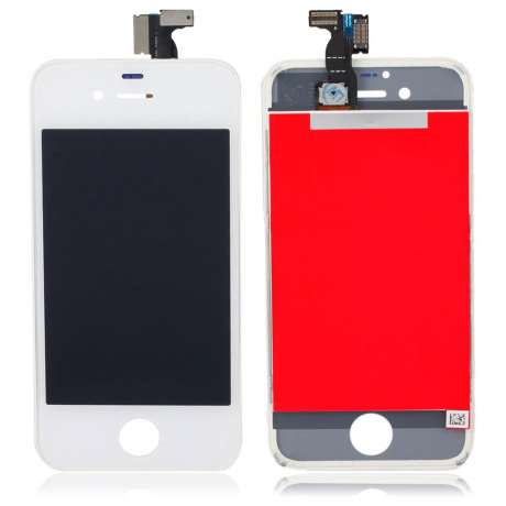 Ecran LCD Complet Compatible iPhone 4S BLANC