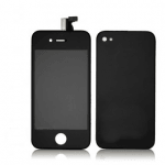 Kit De Transformation Complet Compatible iPhone 4 NOIR