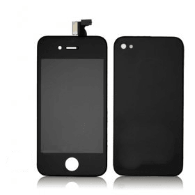 Kit De Transformation Complet Compatible iPhone 4S NOIR