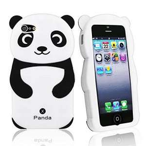 coque iphone 4 silicone panda