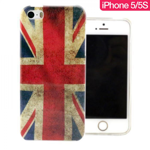 Coque iPhone 5 / 5S United-Kingdom Vintage